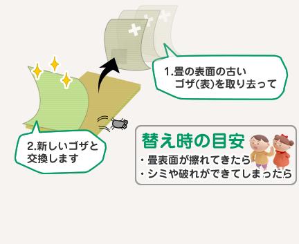 【畳表替え】